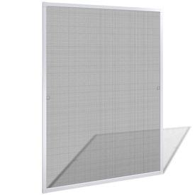 Plasă albă pentru ferestre împotriva insectelor 100 x 120 cm