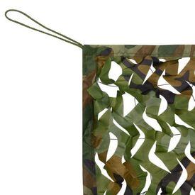 Plasă de camuflaj cu geantă de depozitare 4x6 m