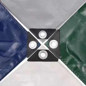 Prelată 650 g/m² 3 x 3 m Verde
