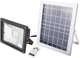 Proiector LED cu Incarcare Solara si Telecomanda / P[W]: 3.5; Ps[W]: 10