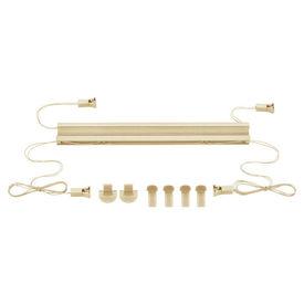 Roleta armonica / perdea plisata - 80 x 125 cm - crem - protectie impotriva luminii si a soarelui - jaluzea - fara gaurire