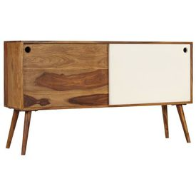 Servantă, 118 x 30 x 66 cm, lemn masiv de palisandru