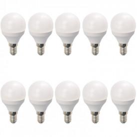 Set 10 Becuri LED Drimus 6W E14 Lumina Rece DL 6064