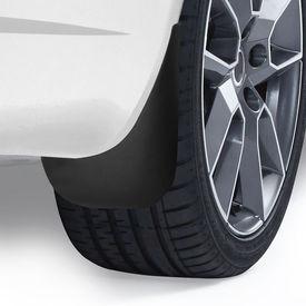 Set 4 bucati aparatoare noroi, VW-Passat B6 Limousine + combi (Model 3C), plastic/negru