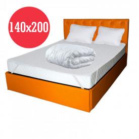 Set Avantaj Saltea Pegas Comfort Flex 140x200 plus 2 perne plus Husa hipoalergenica plus Pilota iarna microfibra 180x200
