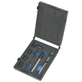 Set burghie și cutter pentru sudură, 9 piese, HSS-Cobalt