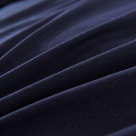 Set husă pilotă, 4 piese, negru, 155x220/80x80 cm