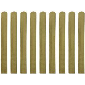 Șipci de gard din lemn tratat, 30 buc., 100 cm, lemn FSC