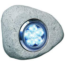 Smartwares Lampă grădină cu LED, model piatră, 3 buc, 2,7 W, gri RS306