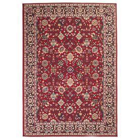 vidaXL Covor persan, design oriental, 180 x 280 cm roșu/bej
