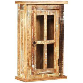 vidaXL Dulap de perete din lemn masiv reciclat, 44 x 21 x 72 cm