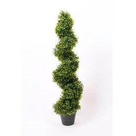 Emerald Arbust ornamental spiralat cimișir 2 buc verde, 95 cm, 17.171C