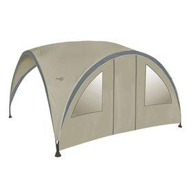 Bo-Garden Perete lateral cu ușă pentru cort de petrecere bej mediu
