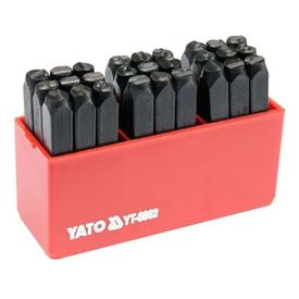 Yato Matriță Litere 27 buc 6 mm
