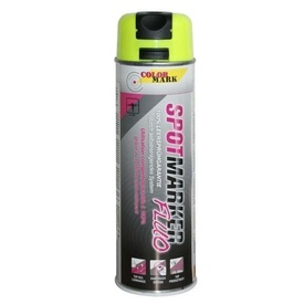 COLORMARK Spray marcaj Spotmarker galben fluorescent - 500ml cod 201509