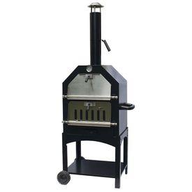 """BBGRILL Cuptor de pizza de exterior """"Lorenzo"""", negru, LOR17"""