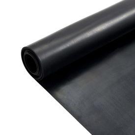 Covor de cauciuc anti-alunecare, 1,2 x 2 m, 1 mm, neted