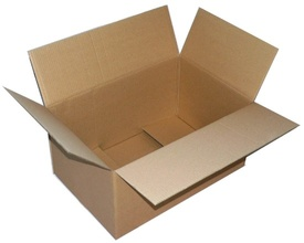 Cutie din Carton Ondulat Natur CO3, 45 x 30 x 30