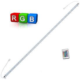 [in.tec]® linie LED aluminiu - iluminat indirect - 1 x 100cm - RGB colorat