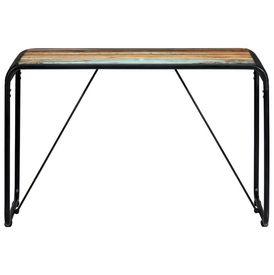 Masă de bucătărie, 118 x 60 x 76 cm, lemn masiv reciclat