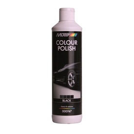 MOTIP COLOUR POLISH 747C polish color negru 500ml