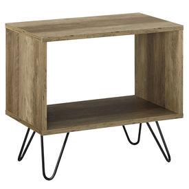 Noptiera - 48cm x 29,5cm x 45cm - efect lemn