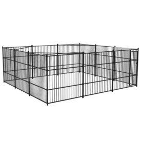 Padoc de câini de exterior, 500 x 500 cm