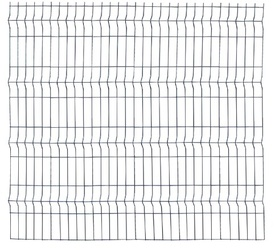 Panou Bordurat Zincat pt Gard - 2x1.2 - 653133