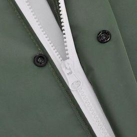 Pelerină de ploaie impermeabilă cu glugă, XL, verde