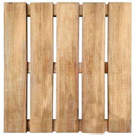 Plăci de pardoseală, 30 buc., maro, 50 x 50 cm, lemn FSC
