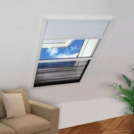 Plasă Fereastră pentru Insecte 160 x 110 cm Aluminiu Protecție solară