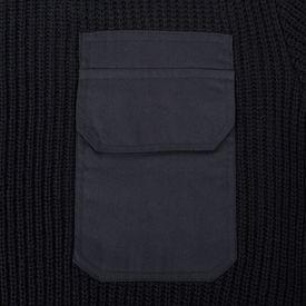 Pulover de lucru pentru bărbați, negru, mărime XL