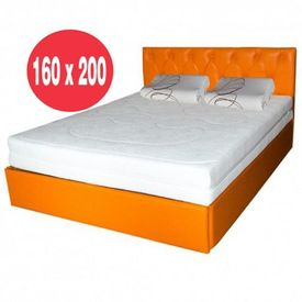 Saltea Ulise Standard Spring Comfort 160x200 plus 2 perne ortopedice memory SB 52x32 cm