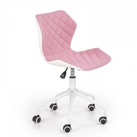 Scaun birou copii HM Matrix 3 roz - alb