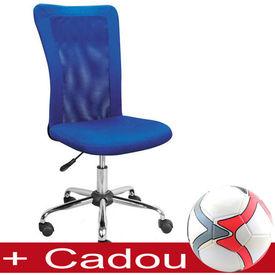 Scaun birou copii mesh SL Q122 albastru