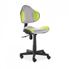 Scaun birou copii mesh SL QG2 verde - gri