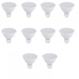 Set 10 spoturi LED 6W 12V lumina calda
