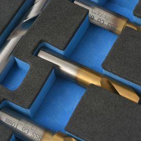 Set burghie pentru sudură în puncte, 4 piese HSS-Cobalt