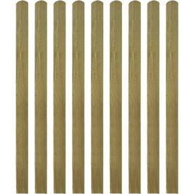 Șipci de gard din lemn tratat, 20 buc., 140 cm, lemn FSC