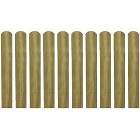 Șipci de gard din lemn tratat, 20 buc., 60 cm, lemn FSC