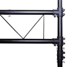 Sistem portabil de iluminat, tip grindă cu 2 trepiede, 3 m