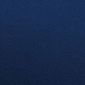 Taburet, albastru și auriu, catifea