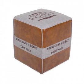 Taburet maro inchis/gri GL ROMAN 2