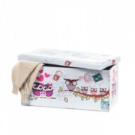 Taburete Design 76.5 x 38 Owls