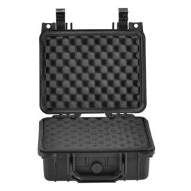 Valiza universala protectie AAWK-5503, 27 x 24,6 x 12,4 cm, plastic, negru