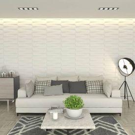 vidaXL Panou de perete 3D, 24 buc., 0,5 x 0,5 m, 6m²