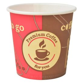 Pahare de cafea de unică folosință din hârtie 120 ml 1000 buc.