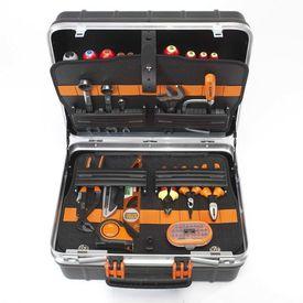 BAHCO Cutie rigidă pentru unelte, cu 55 de unelte, 4750RCW011BNL