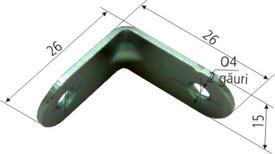 Coltar pt Mobila Euro SG 4017 - 26x26x15x1.5 - 649262