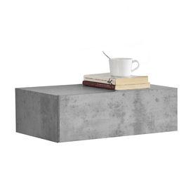 Comoda Model 2, MDF, 46 x 30 x 15 cm, cu 1 sertar - efect beton